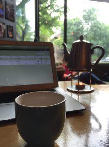 Tea and blog (Portland, OR)