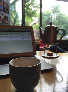 Tea and blog (Portland, OR)