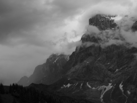 The Wetterhorn (Grindelwald, Switzerland)