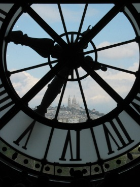 View from the Musee d'Orsay (Paris, France)